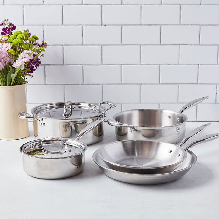 Tastemade Exclusive: 7-Pc American Clad Cookware Set