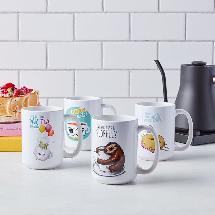 Tastemade Artwork Mugs