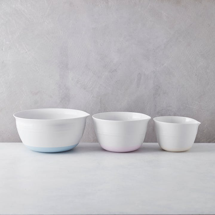 Nonslip Set of 3 Bowls