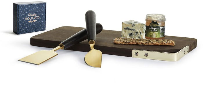 Holiday Gift Cheese Serving Set