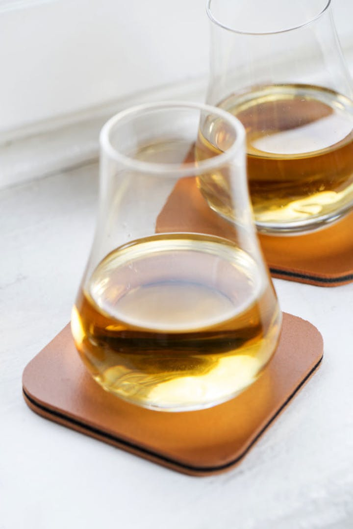 Whiskey Tasting Set with Coasters