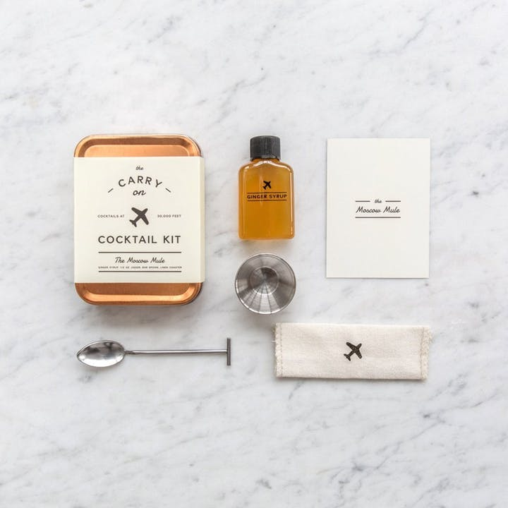 Carry On Cocktail Kits - Moscow Mule + Italian Spritz
