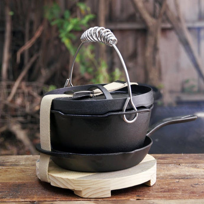 "Barebones Living 10"" Dutch Oven Kit"