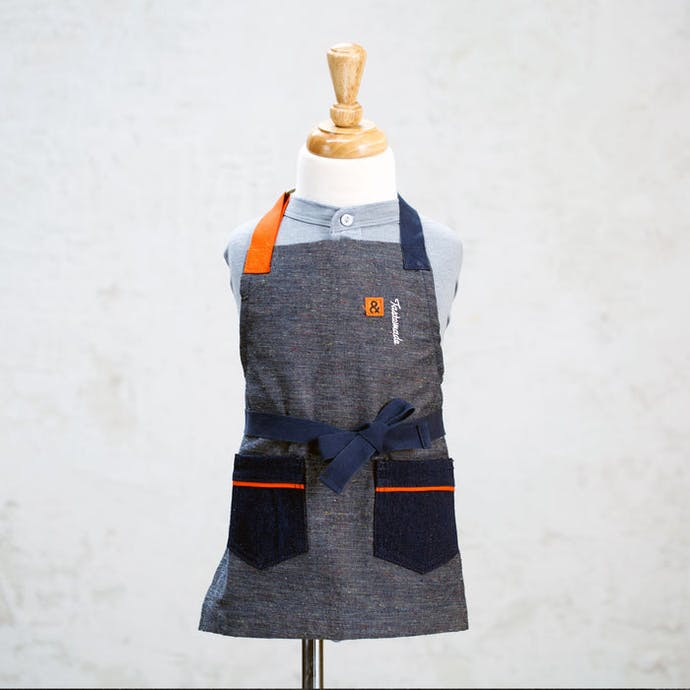 Tastemade x Hedley & Bennett Speckled Denim Apron (Kids Exclusive)