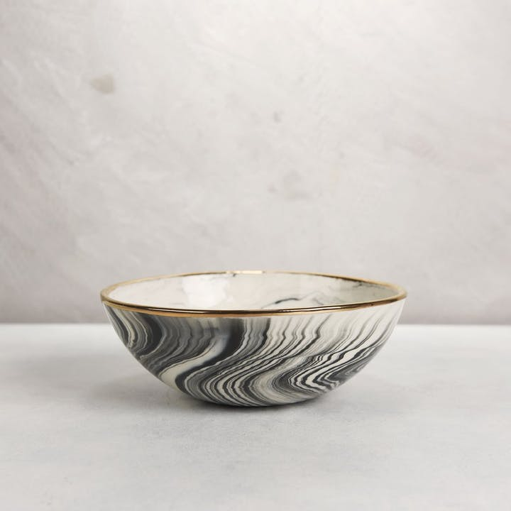 Serving Bowl in Marble