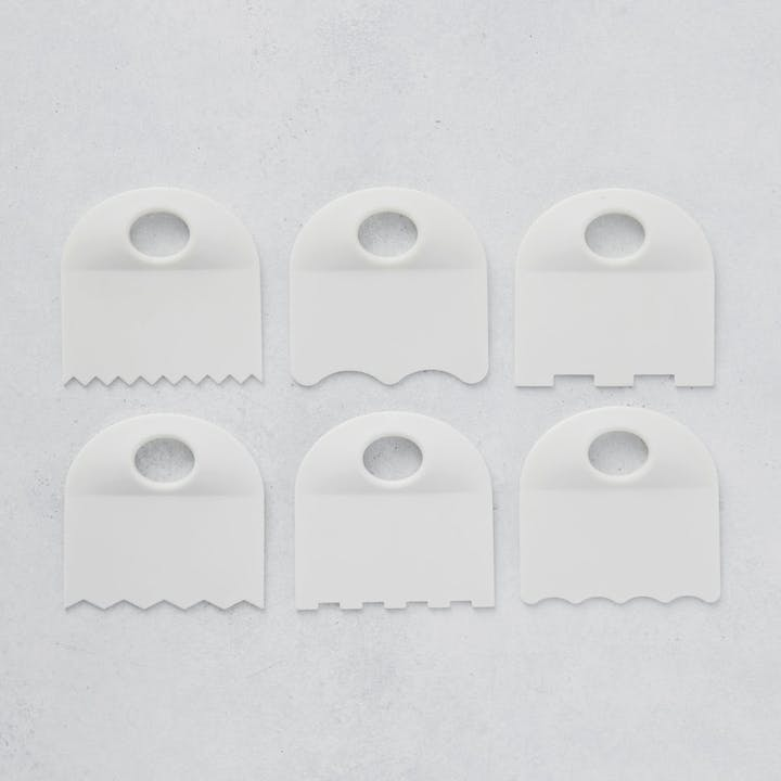 Icing Combs - Set of 6