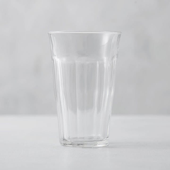 Picardie Clear Glass Tumblers - Set of 6