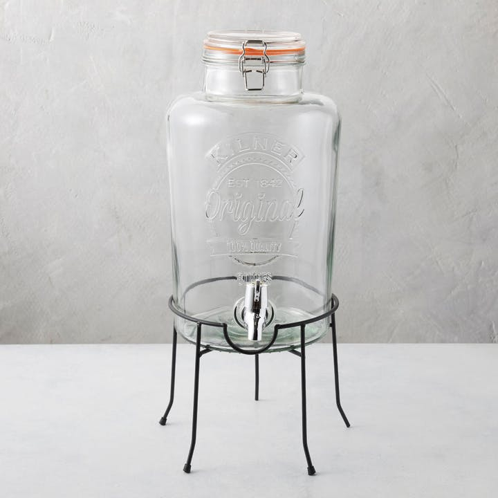 Round Drink Dispenser Stand