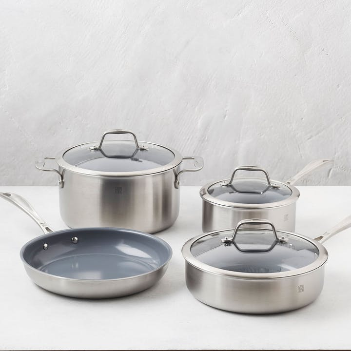 Zwilling 7-Pc Non-Stick Cookware Set