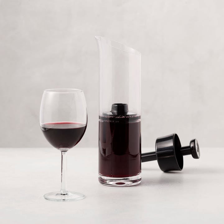 Crystal Wine Preservation Set