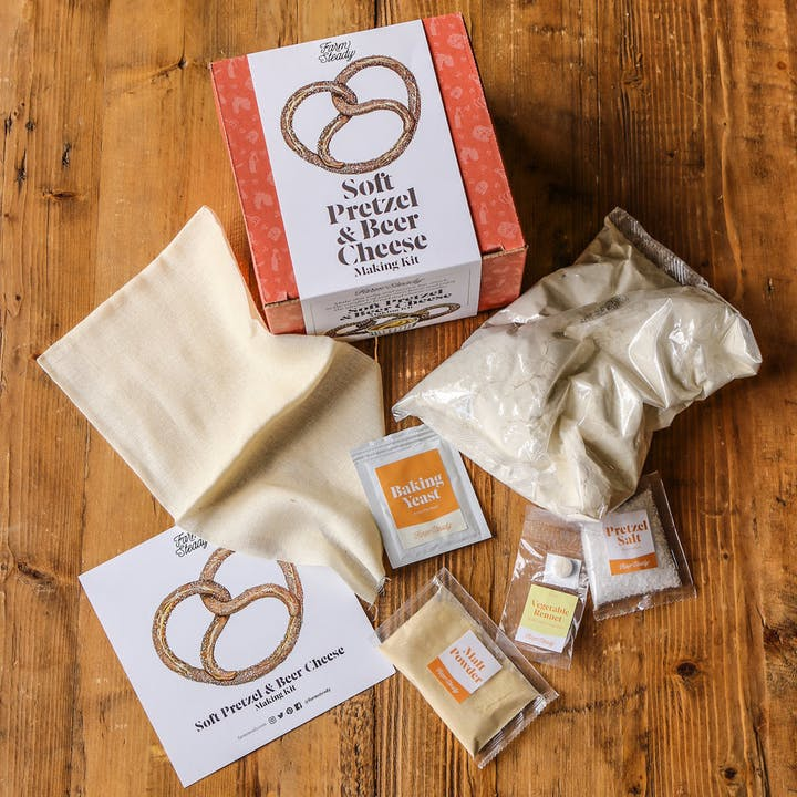 Pretzel and Beer Cheese Making Kit