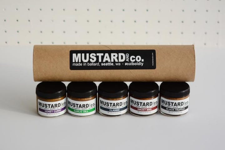 Mustard and Co. Five Flavor Gift Tube