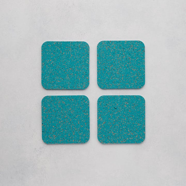 Cork Coasters - Set of 4