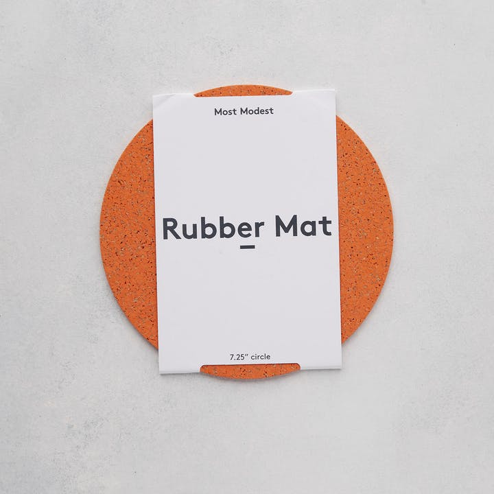 Rubber Table Mat - Small Circle