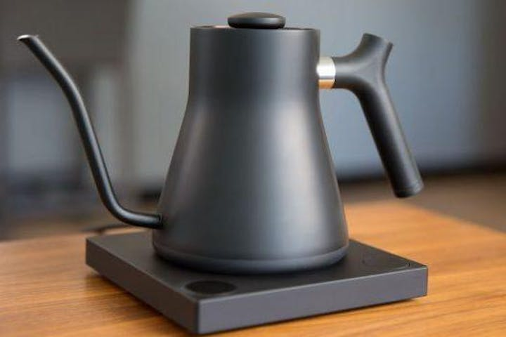 Matte Black Electric Pour-Over Kettle