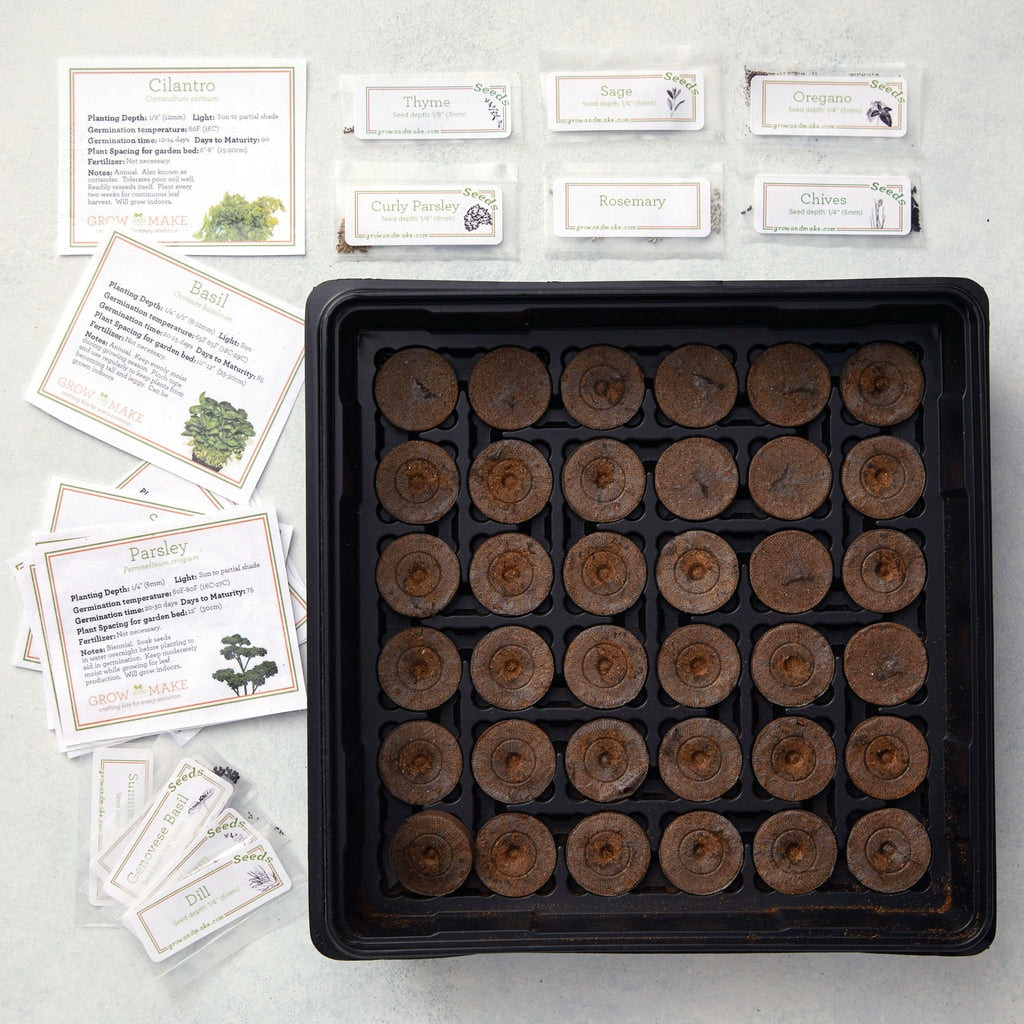 Culinary Herb Garden Starter DIY Kit