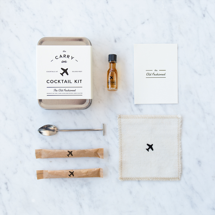 Carry On Cocktail Kits - Old Fashioned + Gin & Tonic