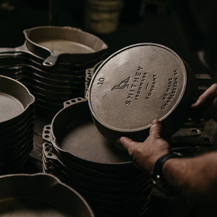 Smithey Cast Iron Skillets
