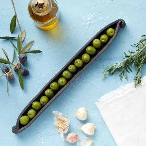 Civil Stoneware Olive Server