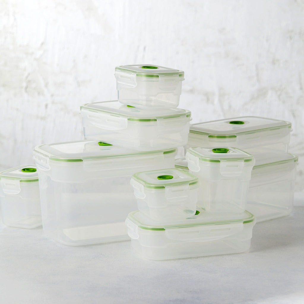 19 pc Vacuum Food Storage Container Set Tastemade